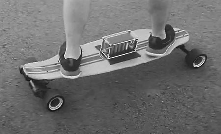 Vaulta skateboard battery pack