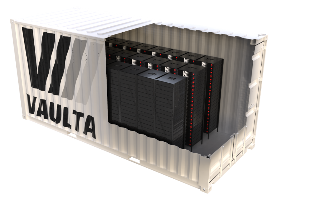 Vaulta stationary storage solution